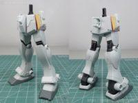 【動画あり】腰・脚の製作(スジ彫り、プラ板、改造etc...)【HG ジム寒冷地仕様】